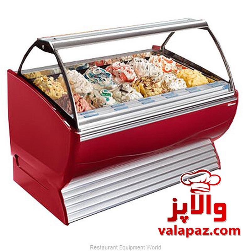 تاپینگ بستنی-یخچال ویترینی